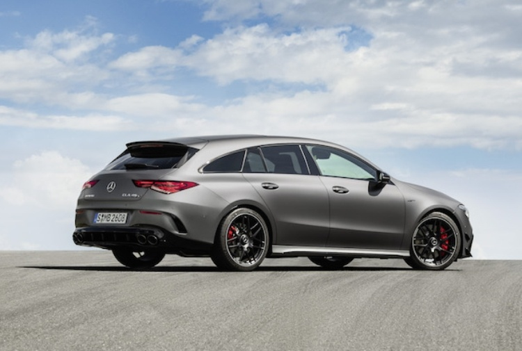 Mercedes-Benz CLA Shooting Brake: la station wagon