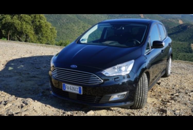Nuova Ford C Max 2016 1 0 Ecoboost 125 Titanium X Test Drive Della