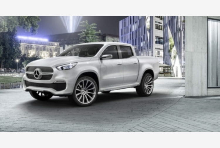 Mercedes-Benz: ecco il primo pick-up Premium
